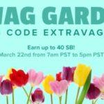 Swag Garden Swag Code Extravaganza (Canada and US)