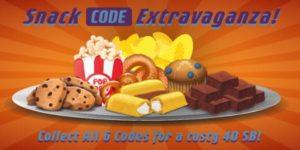 Snack Code Extravaganza (US & Canada)