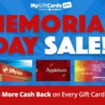 Happy Memorial Day from MyGiftCardsPlus