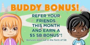 The June Referral Bonus, $5 per Referral
