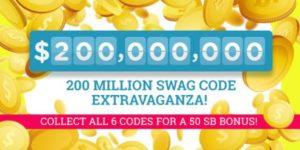 Swag Code Extravaganza (US)