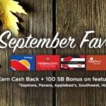 MyGiftCardsPlus September Favorites