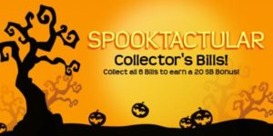 Spooktacular Collector's Bills