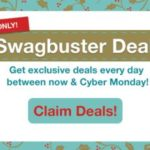 Get exclusive Swagbuster deals on your favorite stores, offers, and gift cards