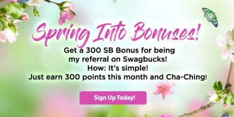 Swagbucks in June