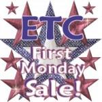 ETC First Mondays sale!