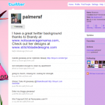 Custom Twitter Background