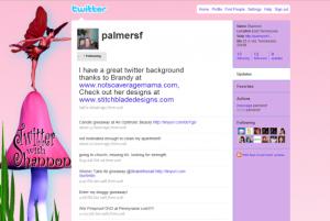 Fairy Twitter Background