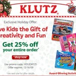 Klutz Books Coupon Code in Time for Christmas!