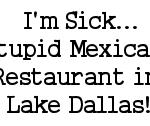 I'm Sick, Poor Poor Me…