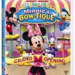 Mickey Mouse Clubhouse, Minnie's Bow-Tique on DVD!