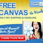 Free 8×10 Photo Canvas!