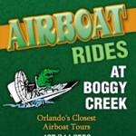 The Second Adventure, Boggy Creek Airboat Rides!