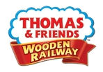 Thomas Wooden Railway Early Engineers Roundabout Station Set