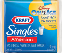 Save 50% on Disney On Ice with KRAFT Singles!