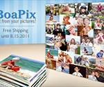 $39 for a 30″ x 40″ photo collage from BoaPix.com, plus free shipping!