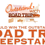 Outstandwich Road Trip Sweepstakes and a Mini Road Trip Giveaway for You! ($100 AmEx GC!)
