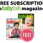Free Subscription to Babytalk Magazine!