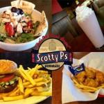 Half Off at Scotty P's Hamburgers!