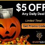 Eversave Halloween Savings! Including Promo Code!