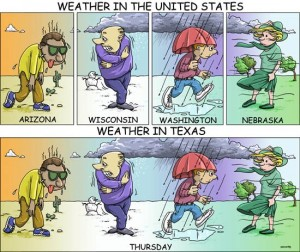 True Story About Texas Weather…