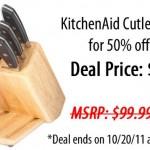 KitchenAid 14 Piece Fine Edge Forged Cutlery Set DEAL!