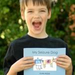 "Inspiring 7 Year Old Boy Writes a Book! ""My Seizure Dog"""