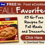 Mr. Food Fall Recipe Favorites!