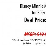 Disney Minnie Mouse Watch for Half Off!