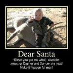 A Last Minute Warning to Santa…