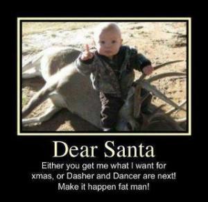 A Last Minute Warning to Santa…