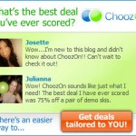 Choozon, Deals and More…