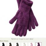 HOT DEAL! Women's Chenille Gloves!