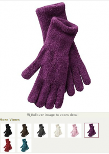 HOT DEAL! Women's Chenille Gloves!