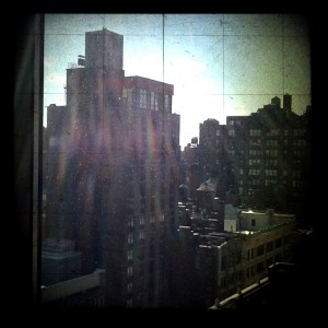 New York! #TheAvengersEvent