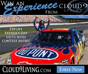 Father's Day Contest and $10 Off From Cloud 9 Living