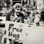 Free Hugs in New York! #TheAvengersEvent