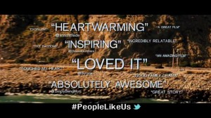 How Exciting!  I Was Quoted in a Movie Trailer! #PeopleLikeUs