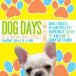 Celebrate your furry friends, Dog Days in the District is near! #Dallas