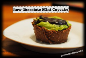 Raw Chocolate Mint Cupcakes Recipe