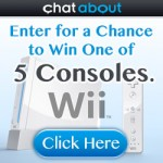 Enter to win one of 5 Nintendo Wii Consoles!