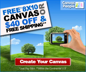 Free 8×10 Canvas