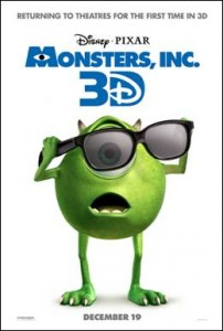 MONSTERS, INC. (In Disney Digital 3D™)
