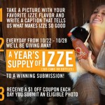 Win Free IZZE For A Year!