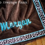 Personalized Towel Wrap, Great Christmas Gift Idea!