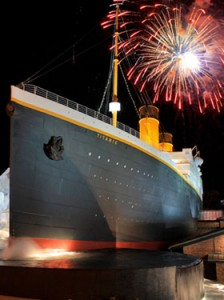 Titanic Museum Thanksgiving Fireworks in Pigeon Forge, TN and Ticket #Giveaway