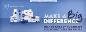 Join Eucerin in supporting Big Brothers Big Sisters!