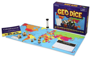 GEODice, Games for Education!  #Homeschool