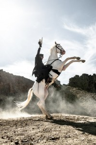 Mesquite ProRodeo welcomes SILVER from LONE RANGER! TICKET #GIVEAWAY!