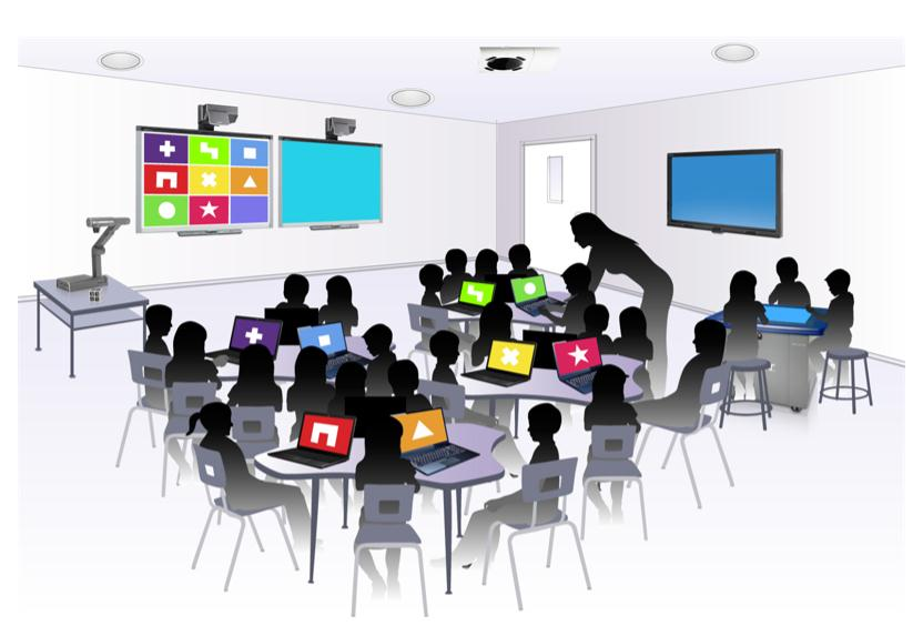 Reset Wellness Center Smart Classroom Rendering